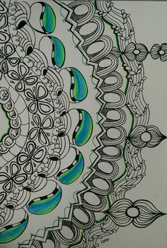 Zentangle by Essy colour