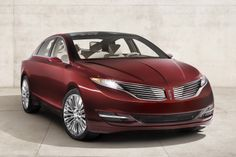 2013 Lincoln MKZ - MADE IT to production!