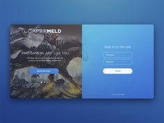 A well-designed form adds value to the overall design, without taking away from its functionality. So in this post we`ve collected 50 beautiful & amazing web & mobile form designs to help inspire your next web & mobile form design. Form Design Web, Login Page Design, App Ui Design, Interface Design, Android Design, Ui Website, App Login, Sign Up Page, Human Centered Design