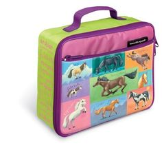 Crocodile Creek's Horses Lunchbox by Crocodile Creek. $35.99. Conforms to or exceeds U.S. and European safety standards. Extra padding to prvent crushing. Insulated lining to keep food fresh. From the Manufacturer                Lunchtime will be more fun and is sure to taste better when packed in this whimsical Horse themed lunch box by Crocodile Creek. Our lunch boxes are all beautifully designed and are made of high quality materials with extra lining and padding to...
