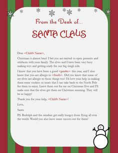 In many homes, tradition calls for kids to leave milk and cookies for Santa Claus on Christmas Eve. Santa also knows all about food allergies and wants your kids to help him spread some cheer! You …