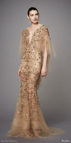 Credits: Dress from Marchesa PRE-FALL 2017