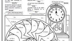 Problemas con horas y minutos