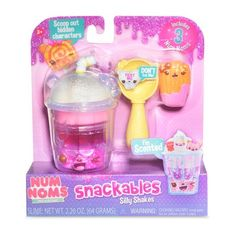 Num Noms Snackables Silly Shakes Berry Shortcake Shake Slime