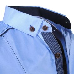 Exclusive trendy Italian blue dress shirt with shoulder pads http://eurodress.co.nz?utm_content=buffer76aca&utm_medium=social&utm_source=pinterest.com&utm_campaign=buffer Sign up for our newsletter to get 15% off! #menswear #fashion #european #trendy
