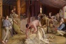 Shearing the Rams - Tom Roberts