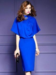 abf80d8bce4 Plain Double-Layered Women s Bodycon Dress