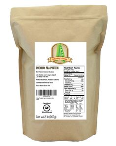 Pea Protein (84% Protein) by Anthony's (2lb)