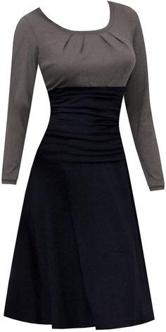 Lieblingskleid Grace - #Grace #kleider #Lieblingskleid Tee Dress, Belted Dress, Dress Skirt, Swing Dress, Elegant Dresses, Cute Dresses, Dresses For Work, Vintage Dresses, Casual Dresses