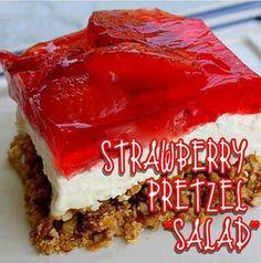 Strawberrt pretzel