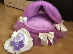 Items similar to Royal canopy bed, dog bed, lounger-bed for dogs lounger-bed for cats bed for dogs and cats elegant lounger-bed soft bed for pets on Etsy Designer Dog Beds, Cool Dog Beds, Medium Dogs, Pet Accessories, Dog Design, Dog Grooming, Small Dogs, Pet Houses, Best Dogs