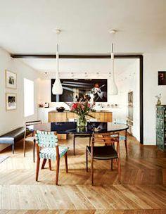 modern Dining room by BUERO PHILIPP MOELLER