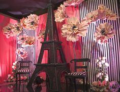 Декор. Эйфелева башня. Оформление в стиле Париж, Франция