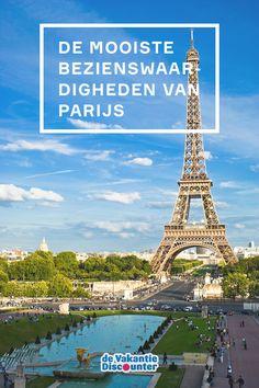 Parijs, een stad die bij vele mensen hoog op het wensenlijstje staat. Een korte reisafstand, veel bezienswaardigheden en – hoe cliché ook – veel romantiek! Maar wat mag je nu echt niet missen tijdens je eerste bezoek aan de stad? Wij zetten de mooiste bezienswaardigheden van Parijs voor je op een rij!
