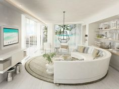 aquaboracay-penthouse-living3 Pent House, Beach Bum, Beaches, Travel Inspiration, Aqua, Water