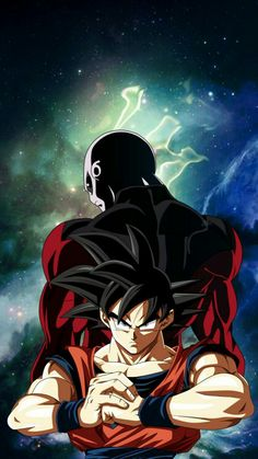 Goku and Jiren Dragon Ball Z, Bubble Dragon, Akira, Dbz, Goku Vs Jiren, Ssj2, Popular Anime, Majin, Enter The Dragon