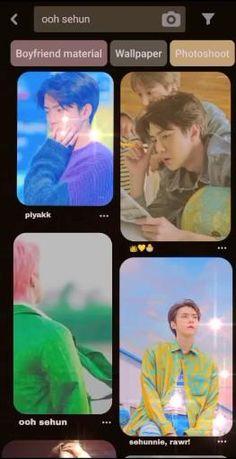 Chanyeol, Sehun Hot, Lightstick Exo, Kpop Exo, Bts Aesthetic Wallpaper For Phone, Exo Music, Nct Album, Exo Songs, Exo Lockscreen