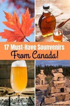 These are the absolute best souvenirs and gifts to buy in Canada! Make sure your gifts to bring home will be loved by your family & friends! Canadian Holidays, Canadian Gifts, Canadian Things, Canadian Travel, Canadian Food, Amazing Destinations, Travel Destinations, Travel Trip, Budget Travel
