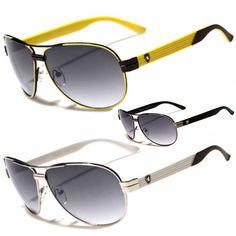 3f406cbb65 Classic Retro Vintage Men Women Fashion PILOT Sunglasses Racing Sports  Glasses