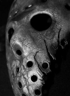 Jason Voorhees..maybe in charcoal or oil paint.. that would be awesome