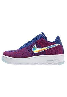official photos 45ca9 028f1 AIR FORCE 1 ULTRA FLYKNIT PREMIUM - Sneakers basse - gym red deep royal  blue white - Zalando.it. Nike SportswearNike FreeBlu ...