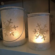 Snowflake t-lights