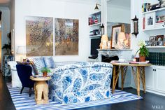 Homes: APT with LSD: Rebecca de Ravenel's New York City Apartment - Culture - Music, Movies, Art, Profiles, and More