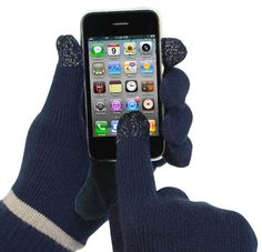 """Isotoner SmarTouch Gloves-this should be in the """"genius"""" board. a must for this winter!"""