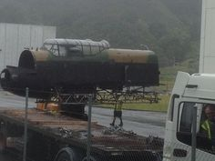 Peter Jackson's eagerly anticipated remake of the classic 1955 war film The Dam Busters may not yet have got off the ground, but a number of full scale Avro Lancaster bomber replicas have been photographed in Wellington, New Zealand.