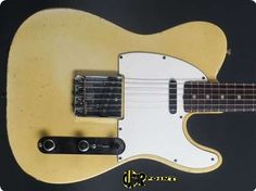 #Fender #Telecaster #1966 Blond #Guitar #vintageguitars  SWEET!!