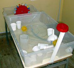 reciclando en la escuela: 9. MeSa De AgUa