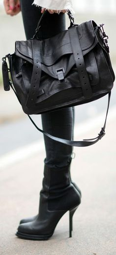Black purse and boots ♥✤ | Keep the Smiling | BeStayBeautiful