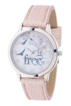 Şık tarzı ve rengiyle kıyafetlerinizle kolayca kombinleyebileceğiniz DeFacto bayan saat.Ürün 2 yıl garantilidir.