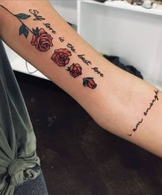 Self-love tattoo with a blooming rose 🥀 🥀- # blooming . - Self love tattoo with a blooming rose 🥀 🥀- # blooming - Piercing Tattoo, Chicanas Tattoo, Form Tattoo, Tattoo Trend, Shape Tattoo, Back Tattoo, Tattoo Ideas, Dope Tattoos, Wörter Tattoos