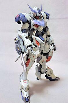 HG 1/144 Gundam Barbatos Lupus - Painted Build     Modeled by Nikke