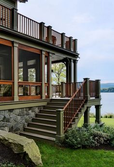 Lake House in Connecticut by Crisp Architects | hookedonhouses.net
