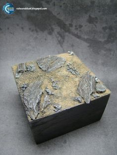 How to make a stone base? | Coloured Dust