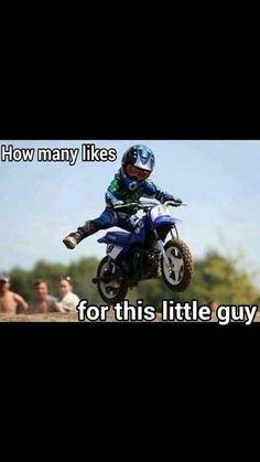 Motocross love!! my son has this bike!!!