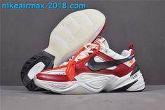 10bd68d80ba New Arrival Women s Off-White x Nike M2k Tekno AO3108-060 White Red Black