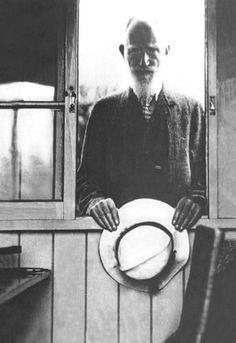 George Bernard Shaw 12x18 Giclee on canvas