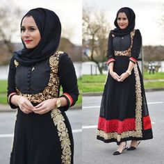 Wore this lovely piece from @bahirahboutique today! #dinatokio #instafashion