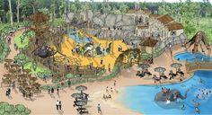 Australia Zoo Hotel by PJA Architects + Landscape Architects