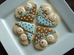 Twin baby cookies
