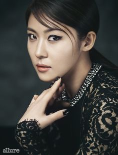 Ha Ji Won Allure Korea