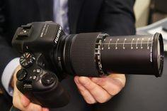 Check out the MEGA zoom Fujifilm FinePix HS50EXR http://cnet.co/Z5erpy