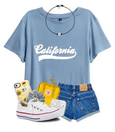 """I want summer☀️"" by magsvolleyball2 ❤ liked on Polyvore featuring Fjällräven, Casetify, Natasha and Converse"