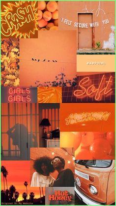 Iphone Wallpaper Orange, Wallpaper Rose, Glitter Wallpaper Iphone, Wallpaper Winter, Mood Wallpaper, Aesthetic Pastel Wallpaper, Tumblr Wallpaper, Aesthetic Backgrounds, Aesthetic Wallpapers