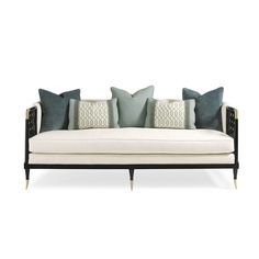 Kagney Lattice Design Sofa - Max Sparrow