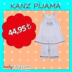 Çocuğunuz minik puantiyeleriyle, rahat kesimiyle Kanz pijamayı üzerinden çıkartmak istemeyecek!