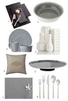 An Organic Modern Wedding Registry